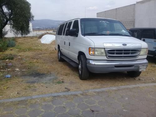 ford econoline 5.4 e-350 wagon v8 15 pasajeros mt