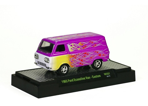 ford econoline van 1965 wc07 m2 machines 1:64 32500-wc7-1