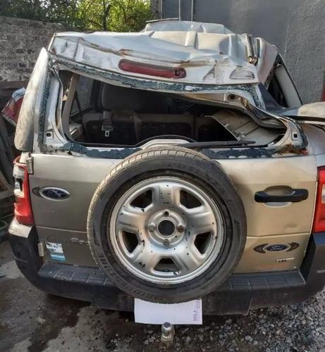 ford ecosport 1.4 tdci 4x2 xls chocada c/ 08 trans incluida!