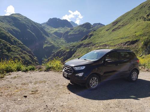 ford ecosport 1.5   2018 negra 5 puertas