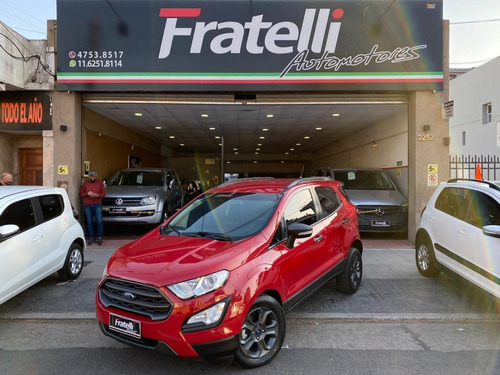 ford ecosport 1.5 freestyle 4x2 manual
