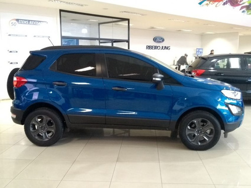 ford ecosport 1.5 freestyle at. 2018 azul flex