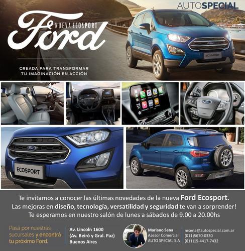ford ecosport 1.5 se e/inmed tasa uva 12.5% 0km ms3