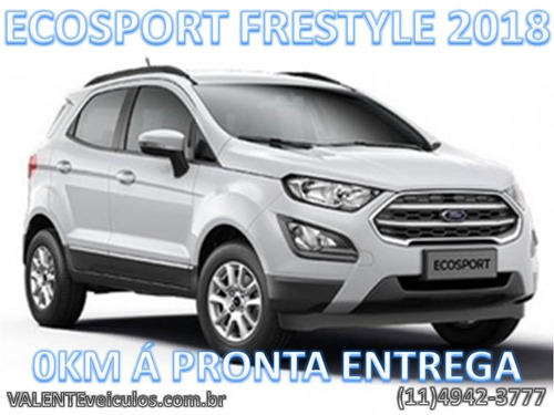 ford ecosport 1.5 tivct flex freestyle manual 2018 0km