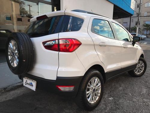 ford ecosport 1.6 16v se manual branca - 2015