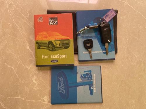 ford ecosport 1.6 freestyle 2011 79.000 km vermelho 4 portas