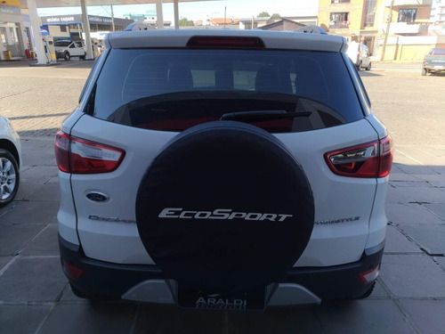 ford ecosport 1.6 freestyle 2014 branco flex