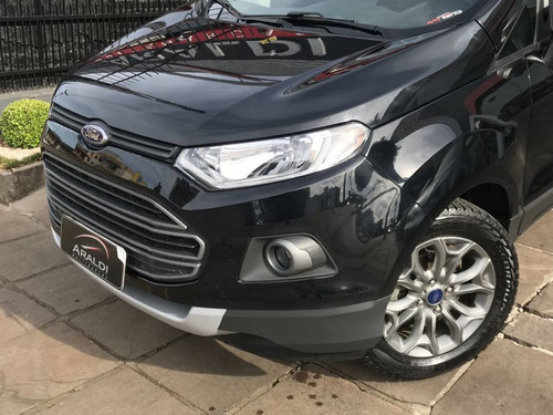 ford ecosport 1.6 freestyle powershift 2017 preto flex