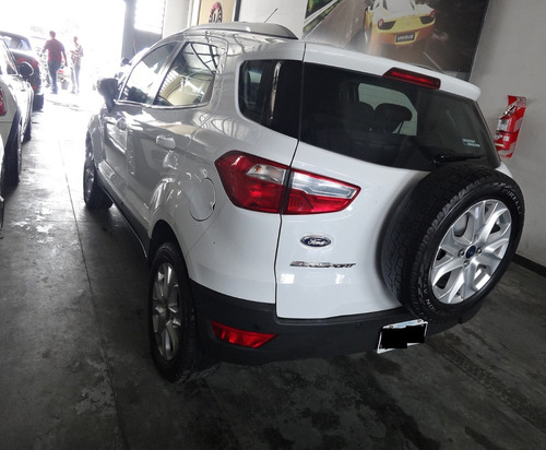 ford ecosport 1.6 titanium 110cv 4x2 blanca!!