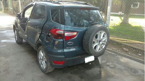 ford ecosport 1.6 titanium baja con alta de motor  mci