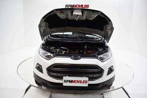 ford ecosport 1.6 titanium manual 2017 rpm moviles