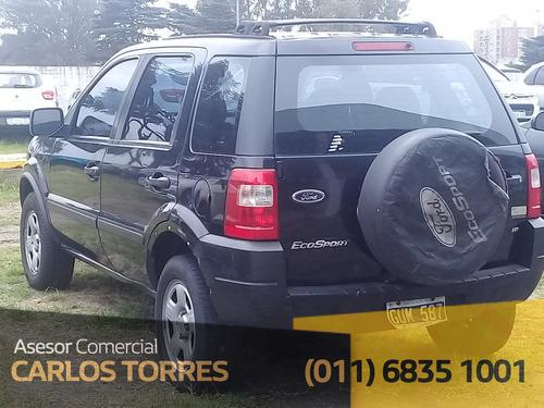ford ecosport 1.6 xl plus gum587 asesor carlos torres