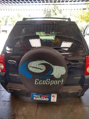 ford ecosport 1.6 xlt freestyle flex 5p 2008 completa preta