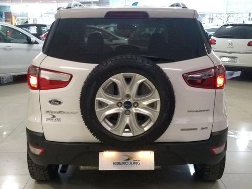 ford ecosport 2.0 titanium powershift 2016 branca flex