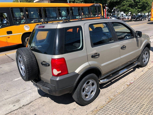 ford ecosport 2008 - xl plus - financio - recibo menor