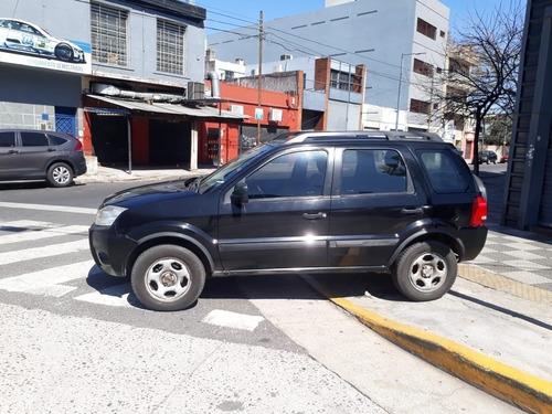 ford ecosport 2010  1.6 xls 4x2 con gnc