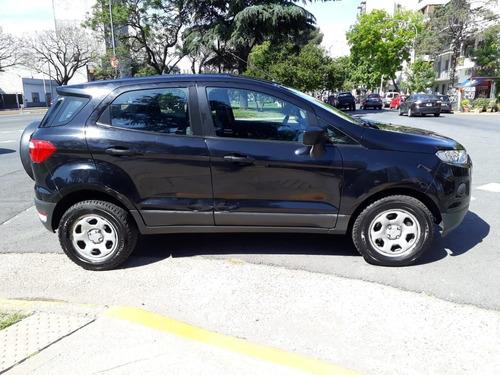 ford ecosport 2014 1.6 s negra