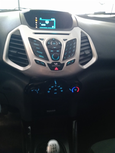 ford ecosport freestyle, 2013, gris o, 93000kms