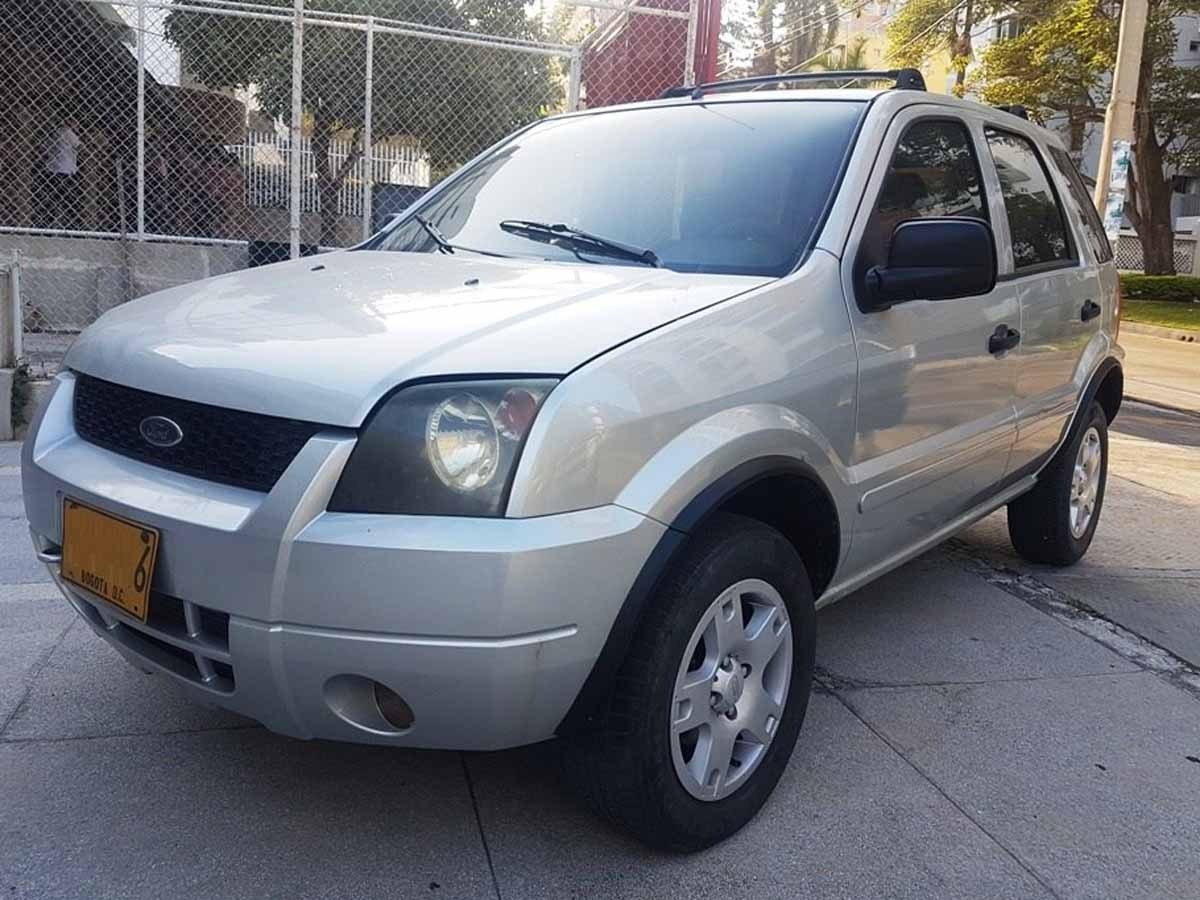 Ford Ecosport Mecanico 4x4 Modelo 2006