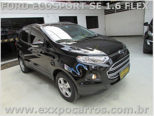ford ecosport se 1.6  flex - powershift - ano 2016 - bonita