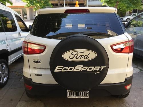 ford ecosport se 1.6 mod 2014 con gnc km 125000