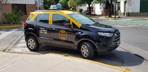 ford ecosport taxi 2013 con gnc de 5ta generacion titular