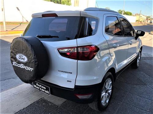 ford ecosport titanium 2.0    2015  con  gnc