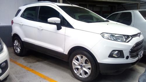 ford ecosport titanium 2013 blanca - oportunidad