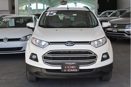 ford ecosport trend 2015