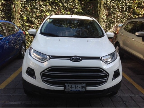 ford ecosport trend at 2015 seminuevos