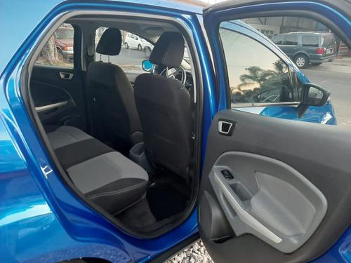 ford ecosport un solo dueño, llantas nuevas