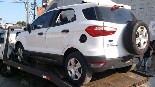 ford ecosport vendido em partes lateral traseira caixa eixo