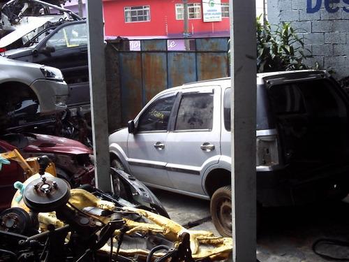 ford ecosport vendido em partes lateral traseira frente cubo