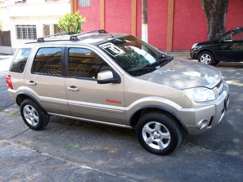 ford ecosport xlt 2.0 flex automatico prata 2010
