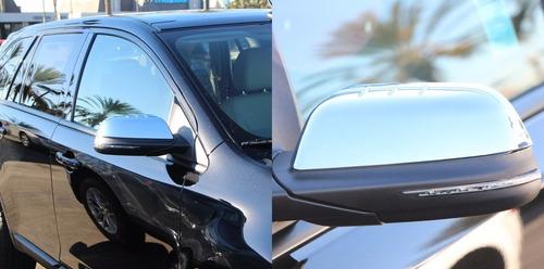 ford edge 2011 - 2014 cubre espejos cromados nuevos!!!