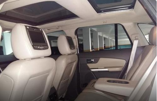 ford edge 3.5 limited awd + teto panorâmico e kit multimídia
