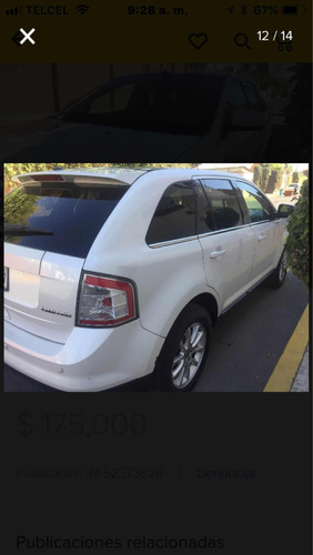 ford edge 3.5 limited v6 piel qc at 2010