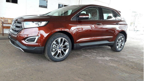 ford edge 3.5 titanium awd 5p! blindada