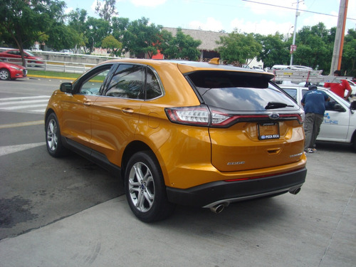 ford edge 3.5 titanium mt 2015 naranja
