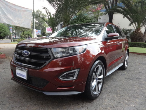 ford edge 5p sport v6 2.7 ecoboost. piel, gps, qc at