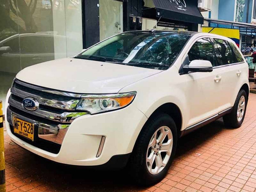 ford edge limited 3500, camioneta blanca full equipo!