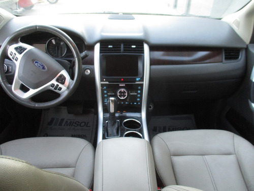 ford edge limited, aut, 6 cil, a/c, color arena, modelo 2013