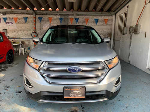 ford edge sel plus 2016 quemacoco panoramico piel dvd gps