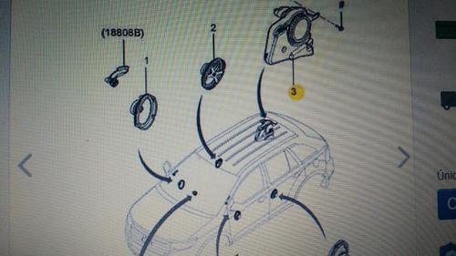 ford edge subwoofer com 04 autofalantes 25w original.