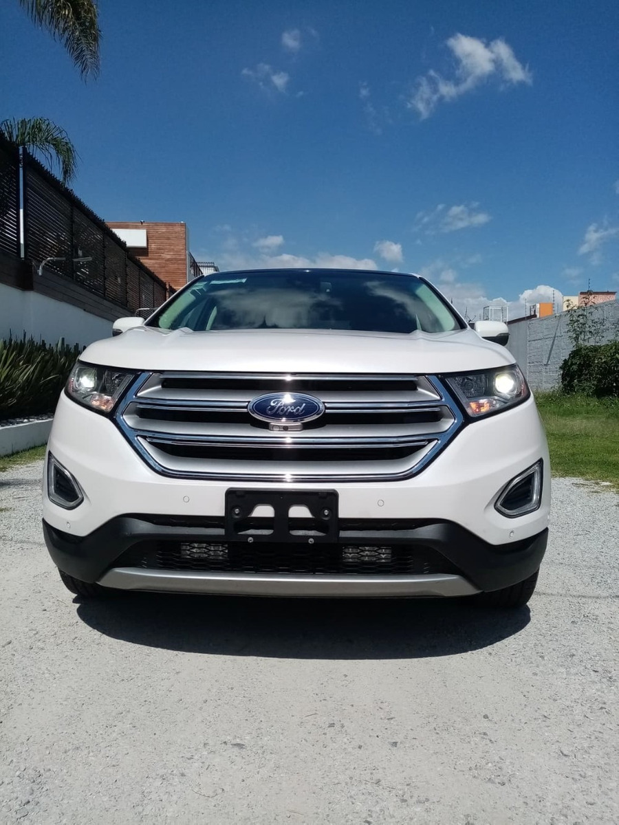 Ford Edge Titanium 2015 Factura Original Todo Pagado ...