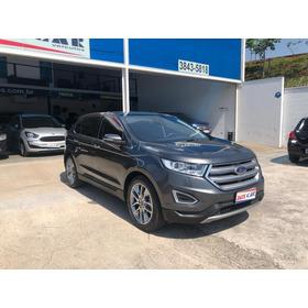 Ford Edge Titanium 2018 Blindado Top De Linha Novíssimo!