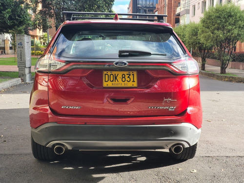 ford edge titanium 3.5 v6 2017 full equipo