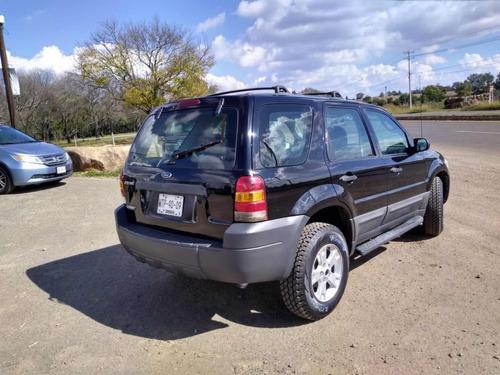 ford escape 2.0 xls tela l4 at 2007 muy buenas condiciones