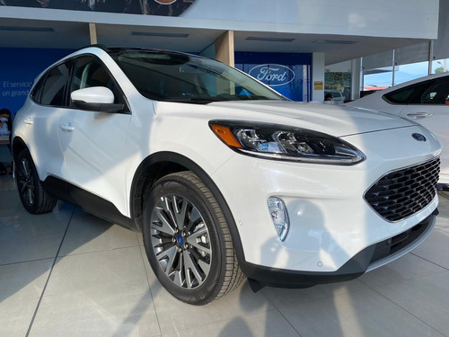 ford escape hybrid 4x4 motor 2.5l 2020 blanco platino