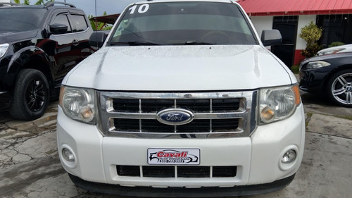 ford escape xlt blanca 2010